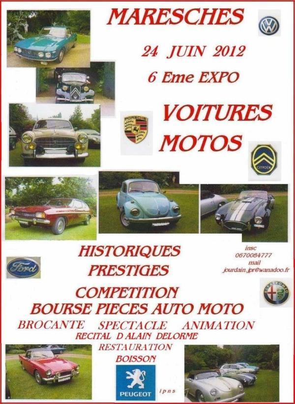 Dimanche 24 juin 2012 Exposition Maresches
