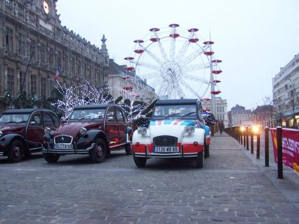 Samedi 1er décembre 2012 Balade des 2cv du coeur génération Téléthon
