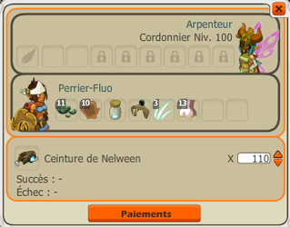 Fin fu farm Nelween, avancement de l'xp, restuff progressif.
