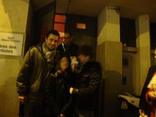 soirée avec Garnier et Sentou ! <3 <3