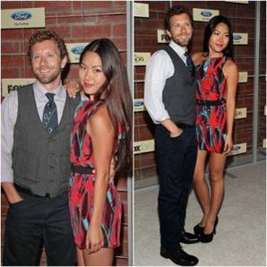 • •  Tamara et TJ qui était accompagné de sa compagne étaient à la Fox's Fall 2012 Eco-Casino Party.  • •