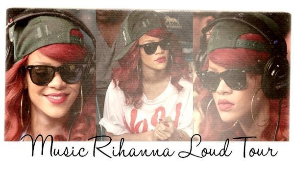 Welcome On MusicRihannaLoudTour