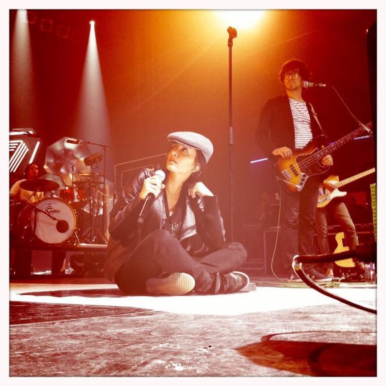 Jen' en concert le 12 Octobre 2011 à Toulouse - Théatre du Casino
