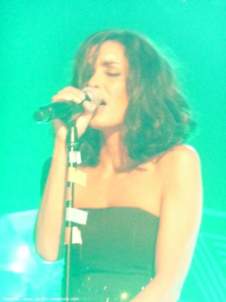 Jenifer en concert le 4 Novembre à Mantes la ville -  Salle Jacques Brel