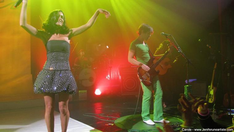 Jen' en concert le 12 novembre ENGHIEN (95) Théâtre