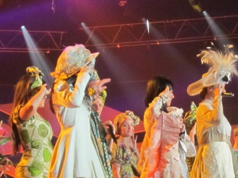 Les ENFOIRES 2012 : Concert du 1er au 6 Février 2012