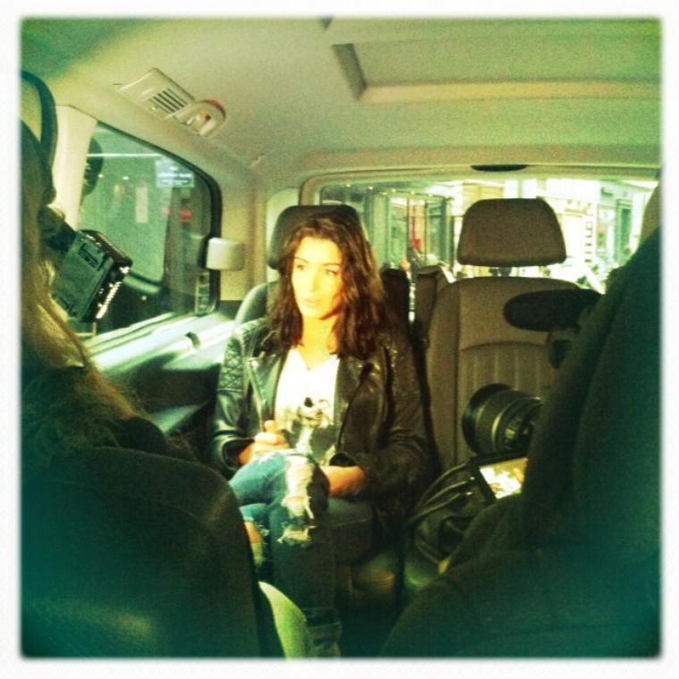 Intw itinérant pour OFF TV... Bientôt sur le web