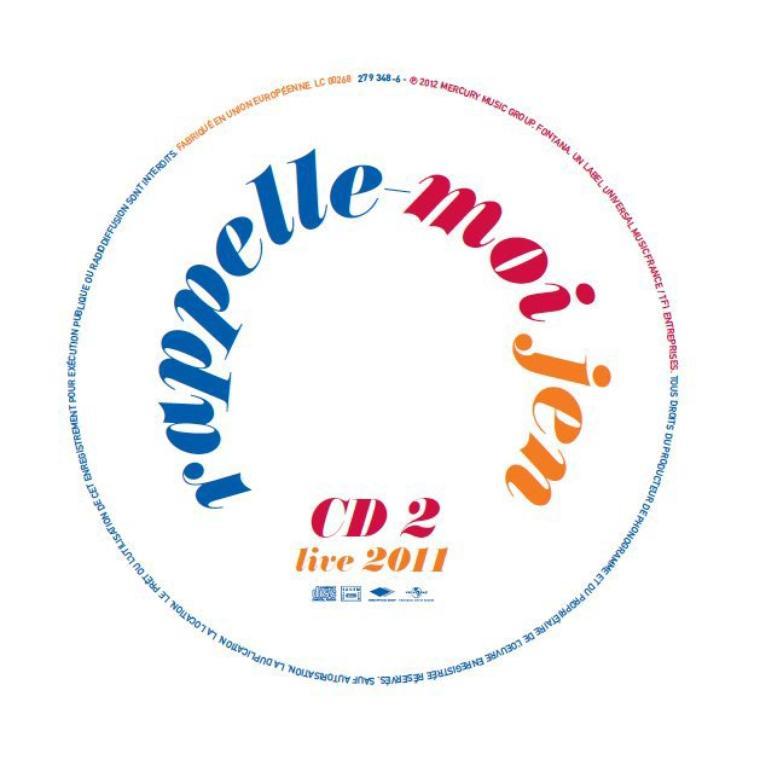 Appelle Moi Jen + Best Of Live : Double CD [Sortie 30 Janvier 2012]