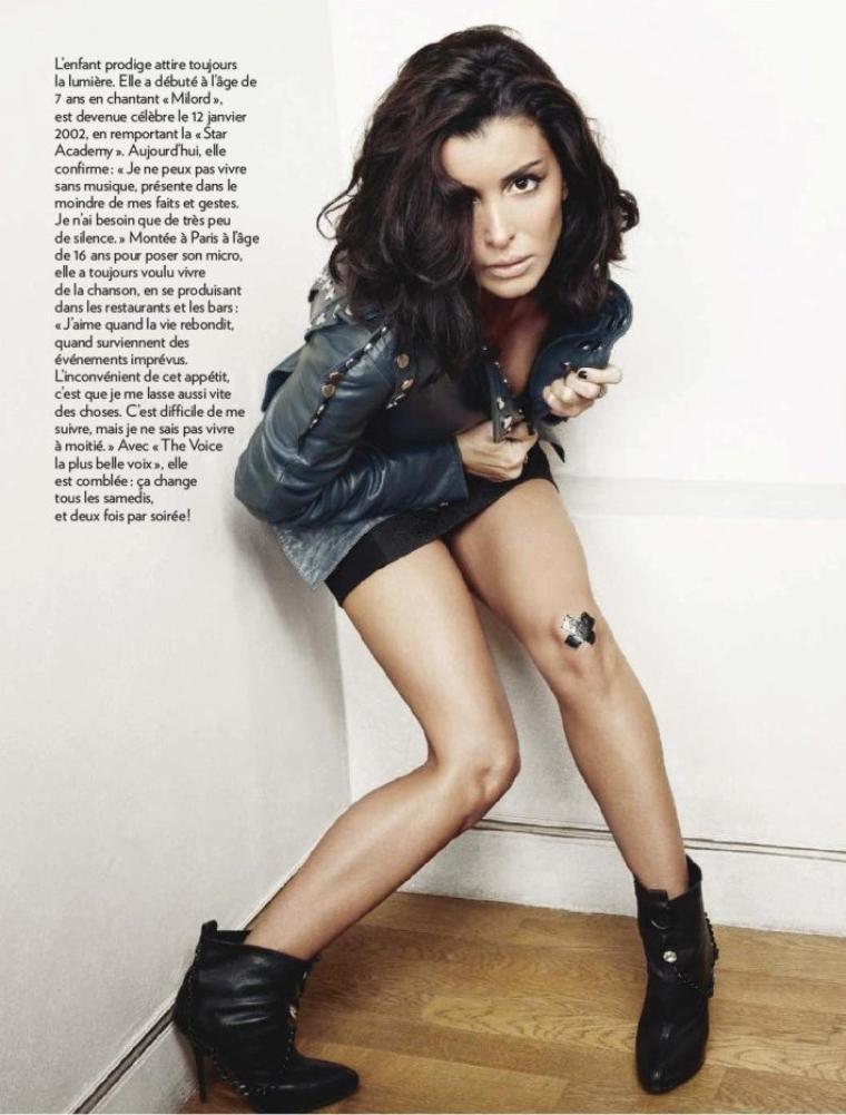 Interview de Jen dans Paris Match - en vente le 29/03/12
