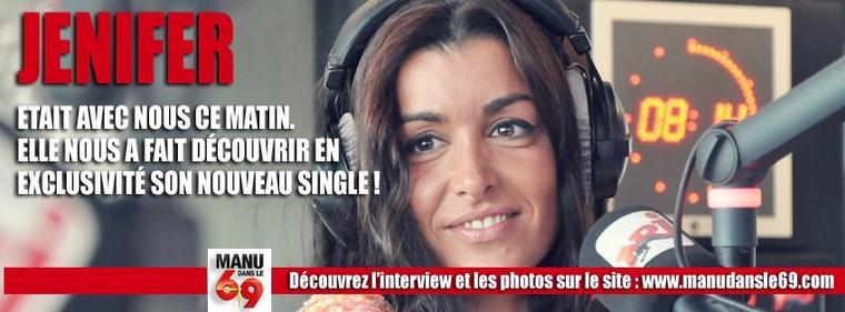 """Jenifer sera l'invitée du 6/9 d' #NRJ le 1er juin pour présenter son prochain single """"Sur le fil"""""""