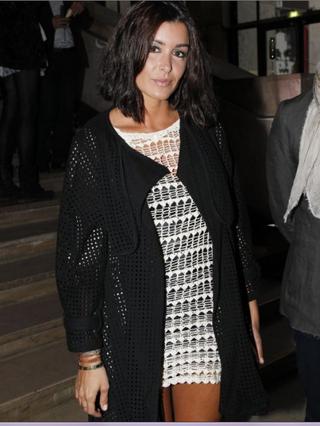 Jenifer pour le 40e anniversaire de la Royal Oak de la marque Audemars Piguet, au Palais de Tokyo à Paris, le 5 juin 2012.