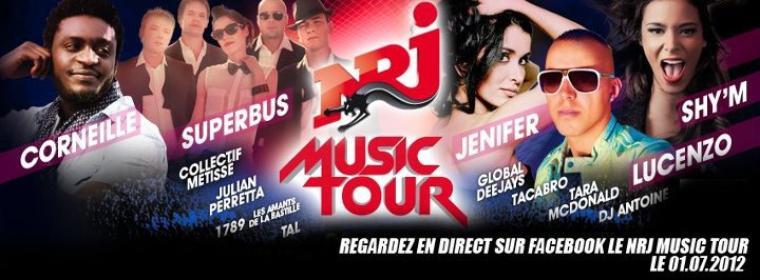 Jen au NRJ MUSIC TOUR BORDEAUX le 1er Juillet