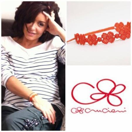 Bracelets Cruciani France portés par Jen'.