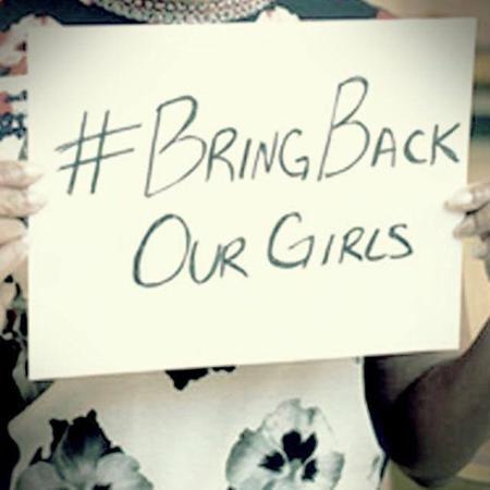 Demain mardi 13 mai à 9h. Parvis des droits de l'homme au Trocadero, rassemblement des femmes mobilisées pour les lycéennes enlevées au Nigeria. #bringbackourgirls #soutien