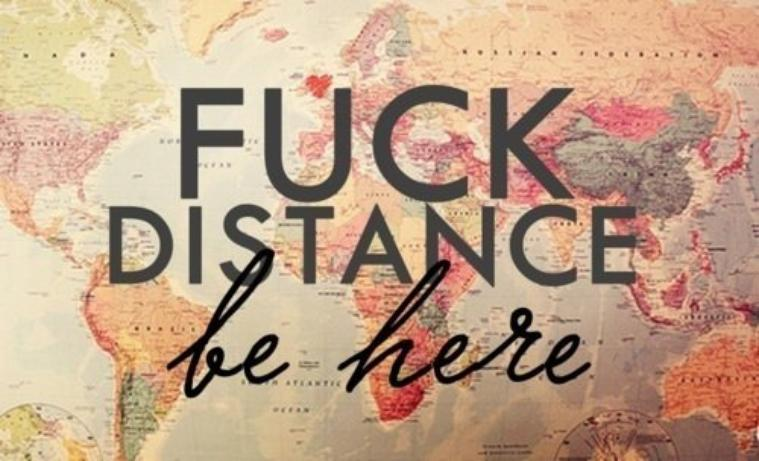 L'amour à distance est pour moi le plus belle amour qu'il puisse exister...