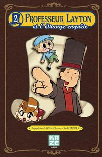 Professeur Layton et l'étrange village tome 2