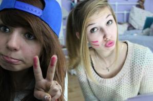 Mwa et ma meilleur amie. <3<3<3