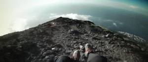 Descente du Stromboli en parapente - video & photos issues de cette video (1/2)