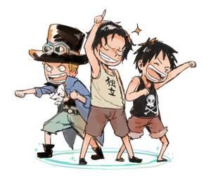 Fanfiction One piece : Neko'S A.S.L :Chapitre 5: Le jour où Luffy s'est paumé.