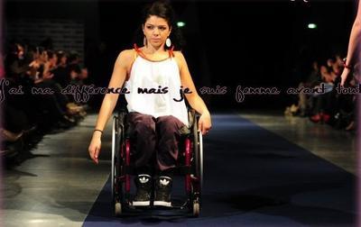"""Le handicap en mode """"fashion"""""""