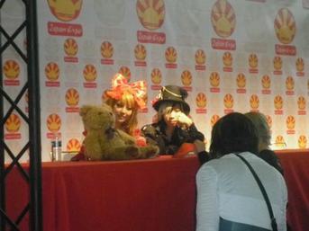 iruma rioka et golden bomber, japan expo 2011