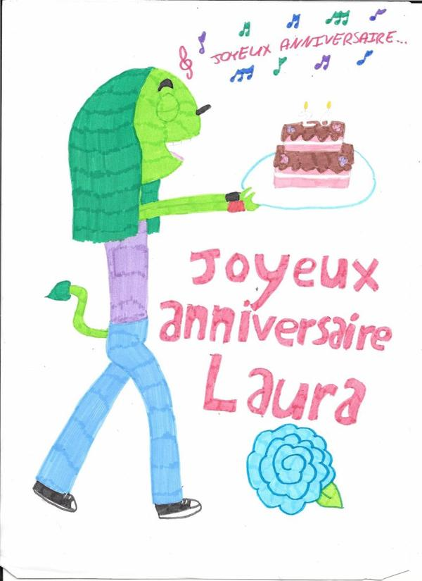 Joyeux Anniversaire Laura Pays Trop Bizarre