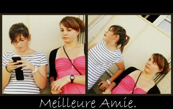 Ma meilleure Amie, le plus belle étoile a mes yeux. ♥