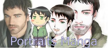 Je dessine votre Portrait manga !
