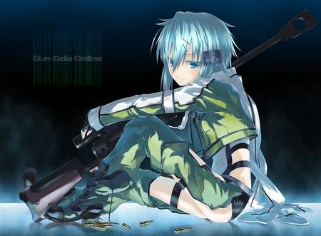 Sinon - Sword art online - Candy-game.