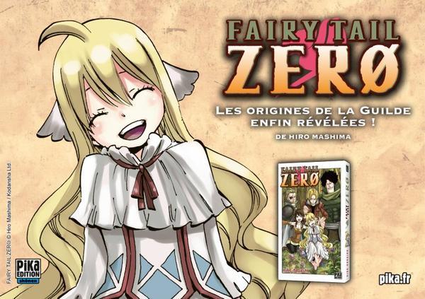 Fairy Tail Zero bientôt en librairie !