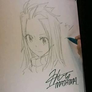 Hiro Mashima dessine les enfants de nos heros (Nalu et Gruvia)