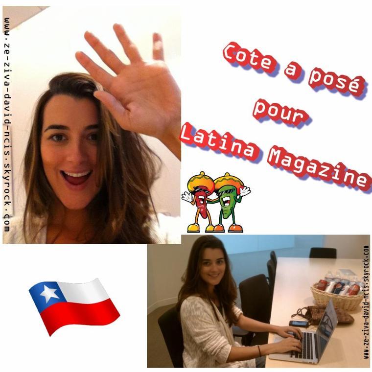 » Vidéos  + quelques photos de Cote pour Latina Magazine et BH Lifestyle Magazine et les sorties de Cote qu'il ne faut pas manquer (en vrac)