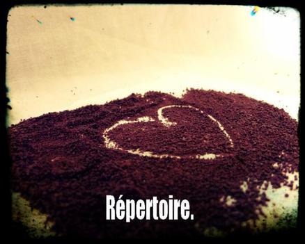 Répertoire.