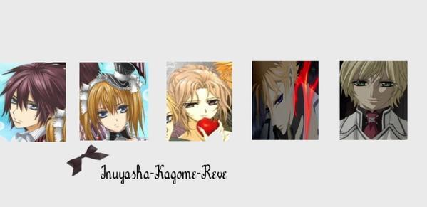 °°°° Vampire Knight Présentation des personnages (4) °°°°