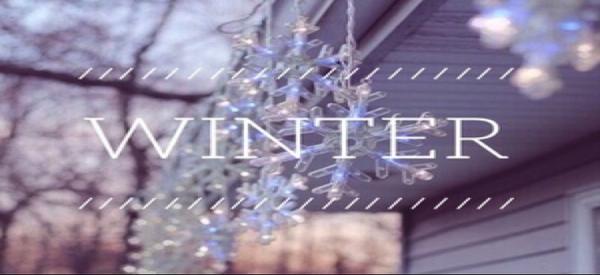 A Savoir [n°3] Les habitudes à avoir en hiver #Winter 2016 n°4