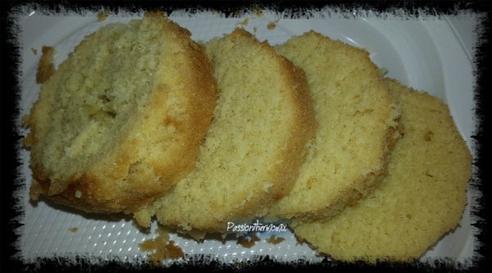 Gâteau allégé au citron, en bocal