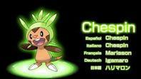 Pokemon de départ de Kalos