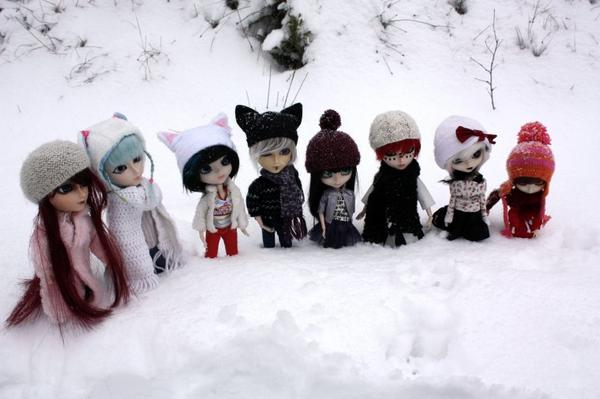 ● Snow with Fumi-Dolls [PART 1] ●