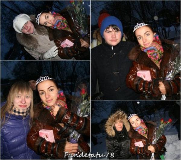 Julia Volkova - Rencontrer avec des fans - Moscou - Russia- 21/02/2010