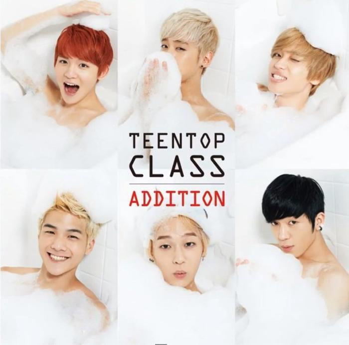"""Les Teen Top sont dans un bain de mousse pour le teaser vidéo de """"Lovefool"""""""