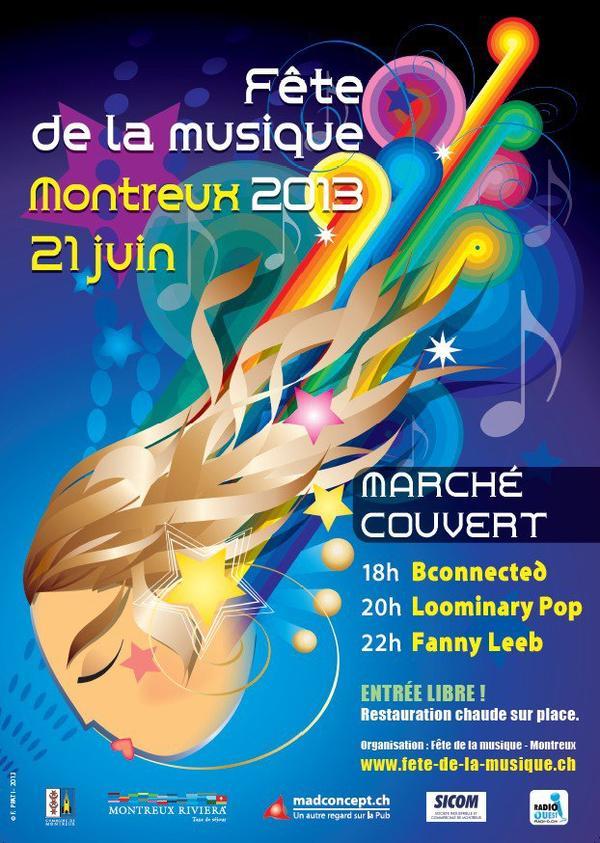 Fête de la musique, Montreux.