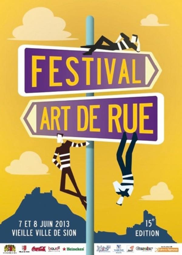 Festival d'art de rue.
