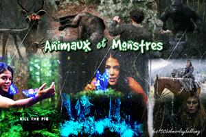 Animaux et Monstre