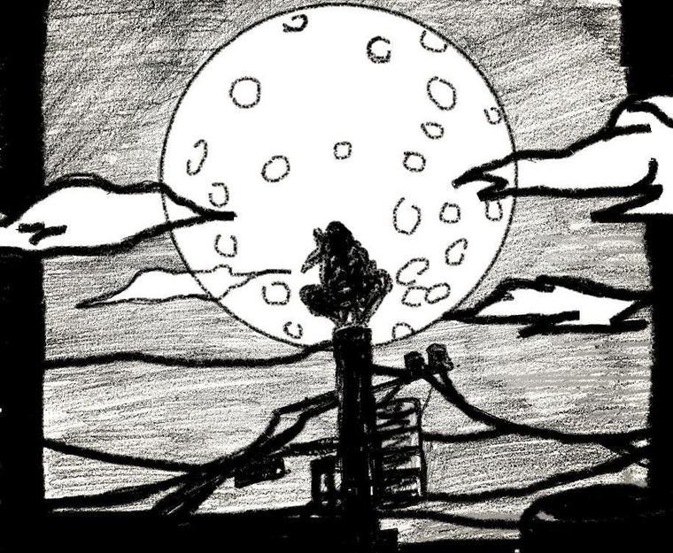 Itachi uchiwa, la lune de sang ( création)