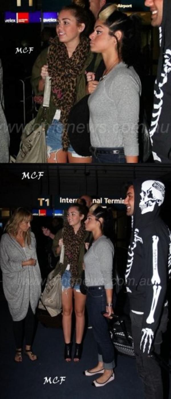 Miley est en Australie !!!