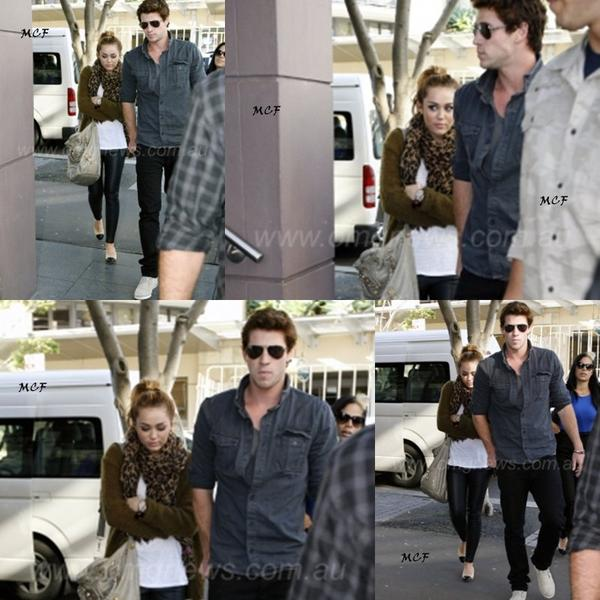 Miley et Liam à Sydney !!!