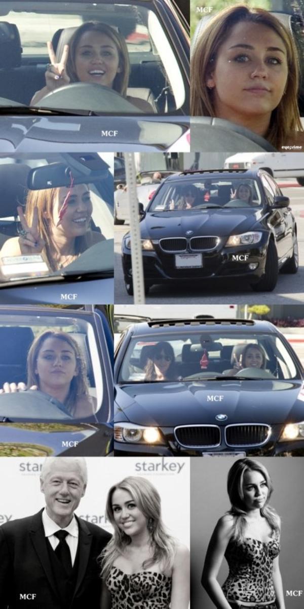 Photos datant d'hier (09 août) de Miley au volant de sa voiture dans les rues d'Hollwood-Ouest ! Miley était comme à son habitude magnifique (et très naturelle!) !!! Et découvrez également de nouvelles photos (récentes) prises par l'ami photographe de VIJAT MOHINDRA !!!