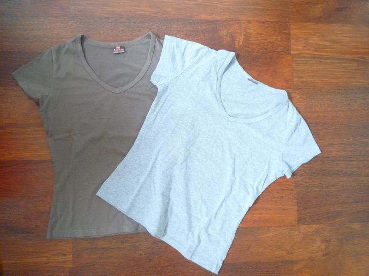 Tee-shirts.
