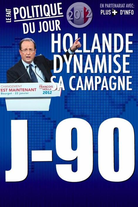 LE FAIT POLITIQUE DU JOUR: Hollande dynamise sa campagne