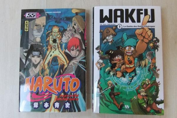 # Nouveaux Mangas.